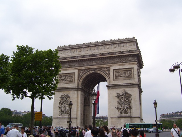 Arc de Triomph in Paris