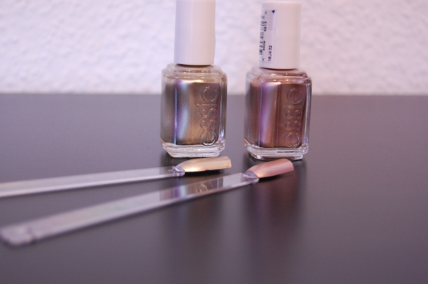 Essie Penny Talk und Good As Gold 2