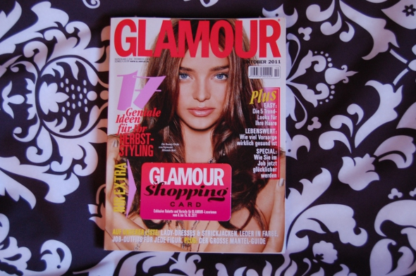 Glamour mit Shopping-Card