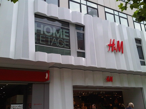 H&M Home Filiale in Frankfurt