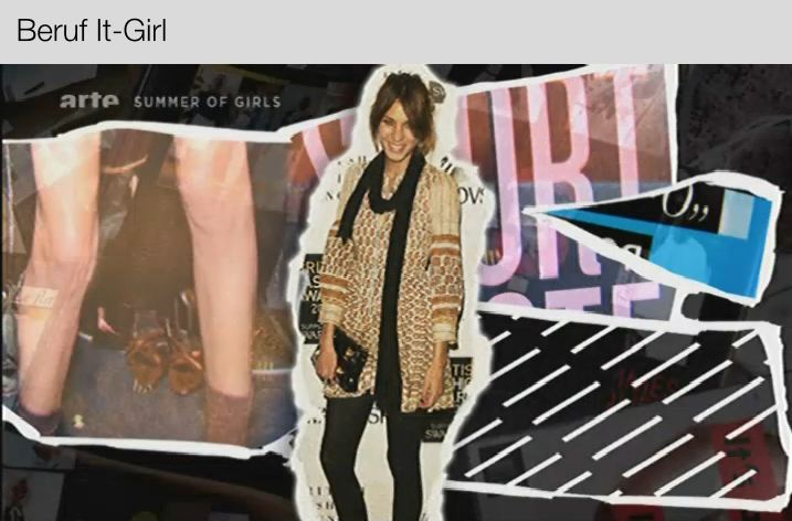 Screenshot Arte Doku - Beruf It-Girl