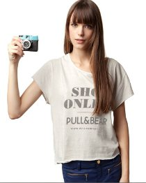 Screenshot Pull and Bear Ankündigung Online-Shop