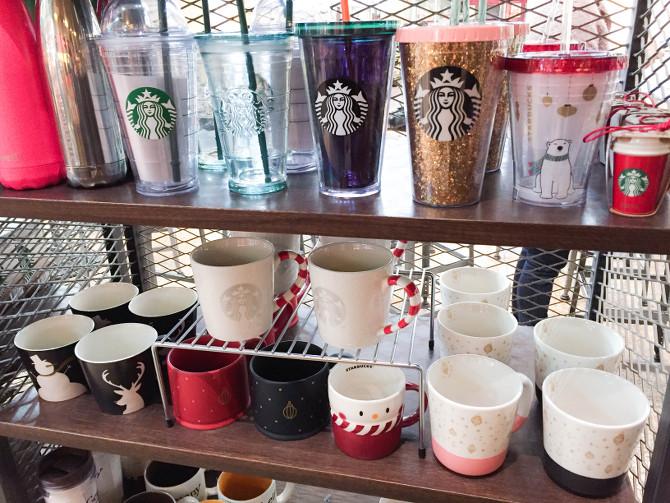 Starbucks Weihnachtstassen2016