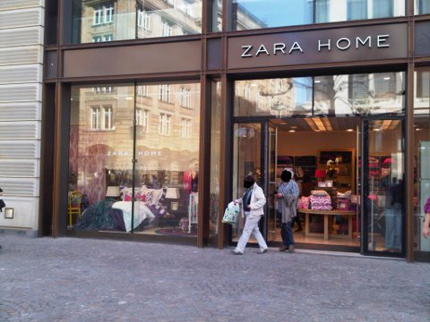 Zara home filiale in frankfurt fashiongefl ster for Fashion for home frankfurt